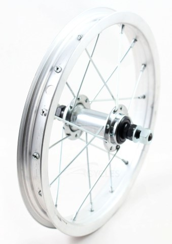 Hub JoyTech Rear 12'' 1/2 Alloy V-brake  Threaded