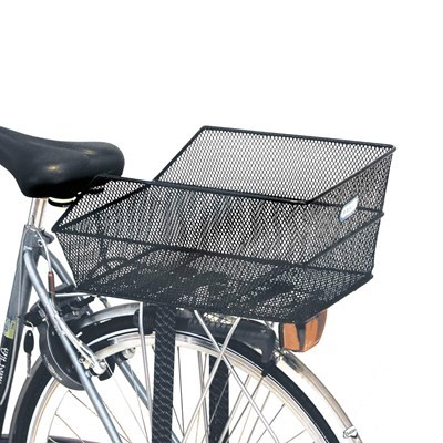 M-Wave Rear Rack Metallic Basket