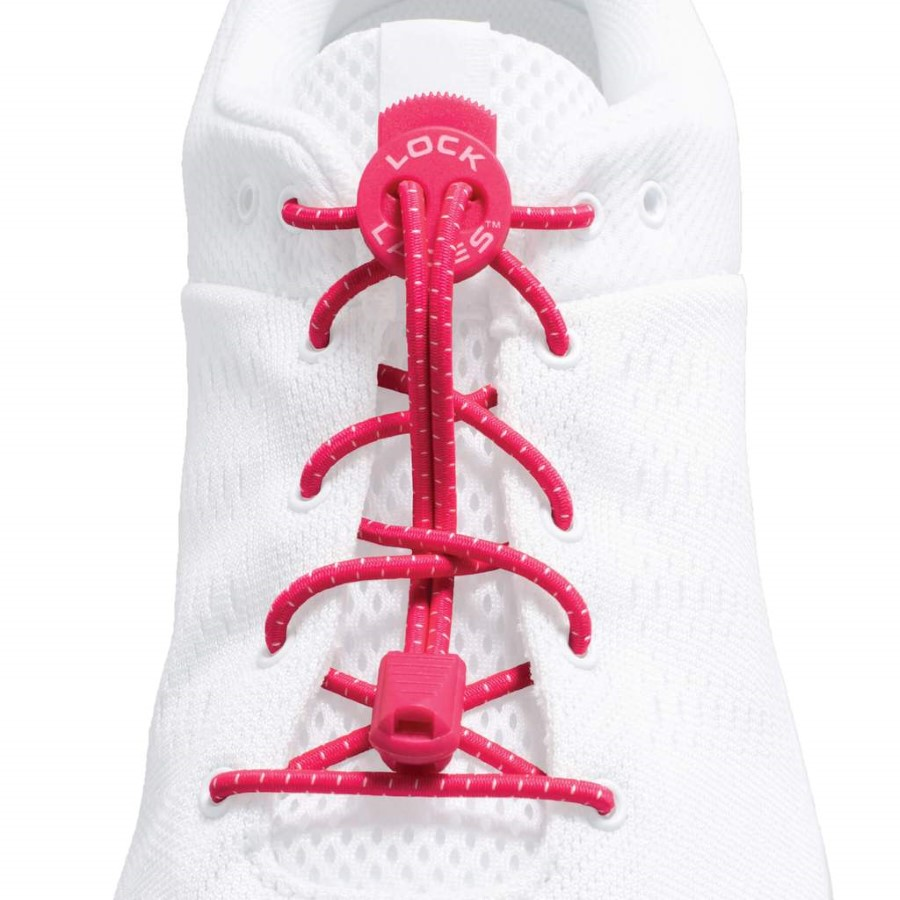 Lock Laces Original  Hot Pink