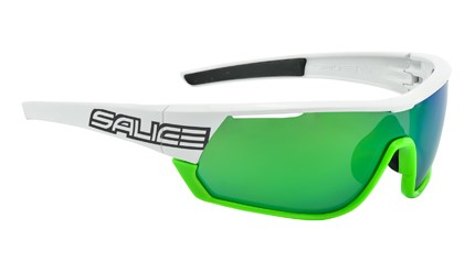 Salice 016RW  white/green|mirror hydro green