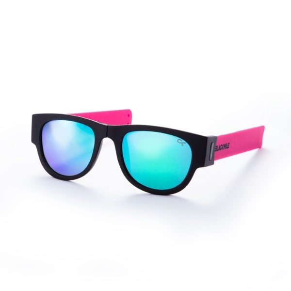BlackMile Clap your lap  pink w/blue lens