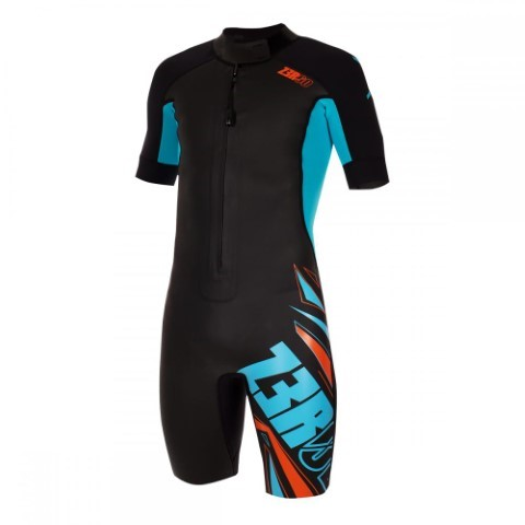 Z3R0D Swimrun Start Wetsuit  Black/Atoll
