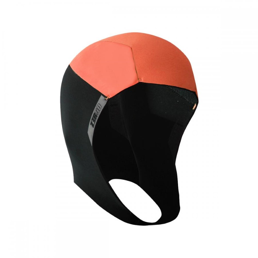 Z3R0D Neo Hood  black|orange