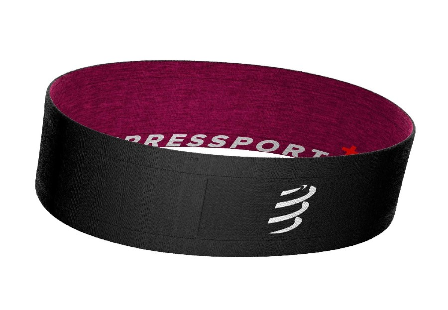 CompresSport Free Belt (Double Face)  black pink