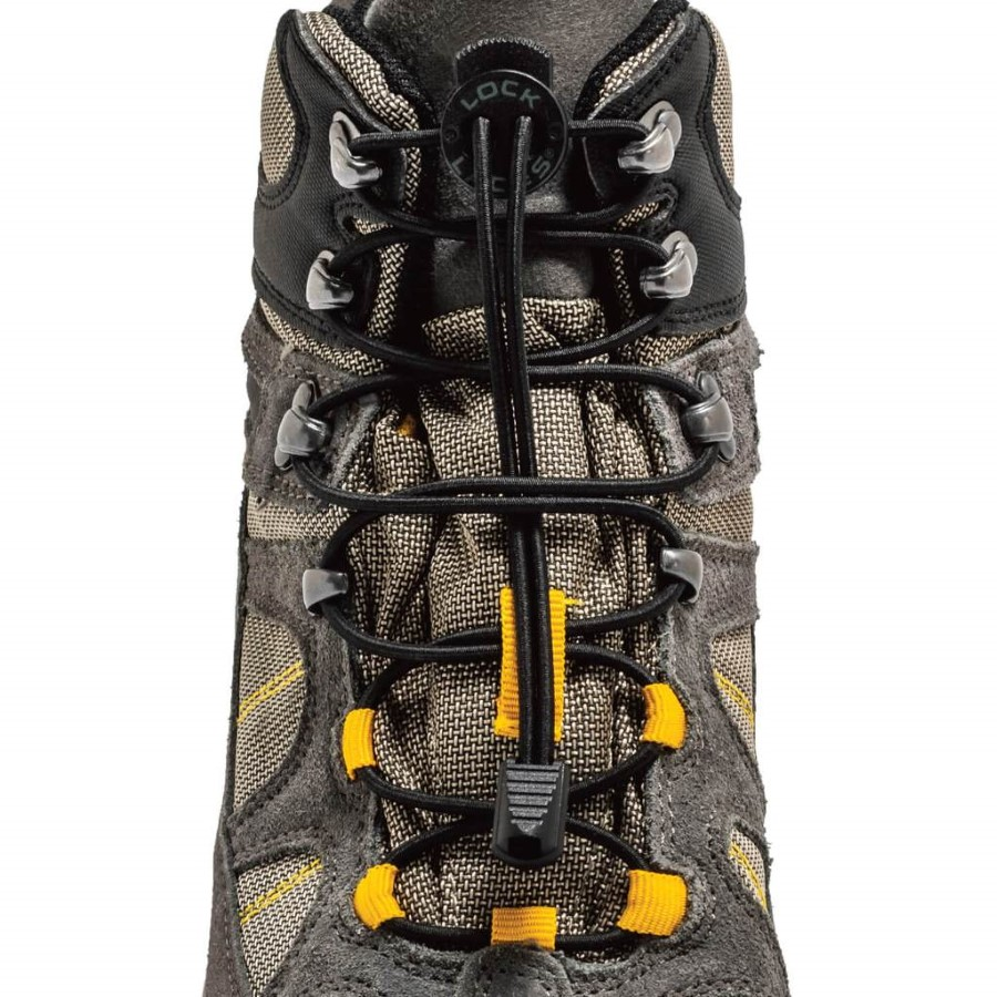 Lock Laces Boot  Black