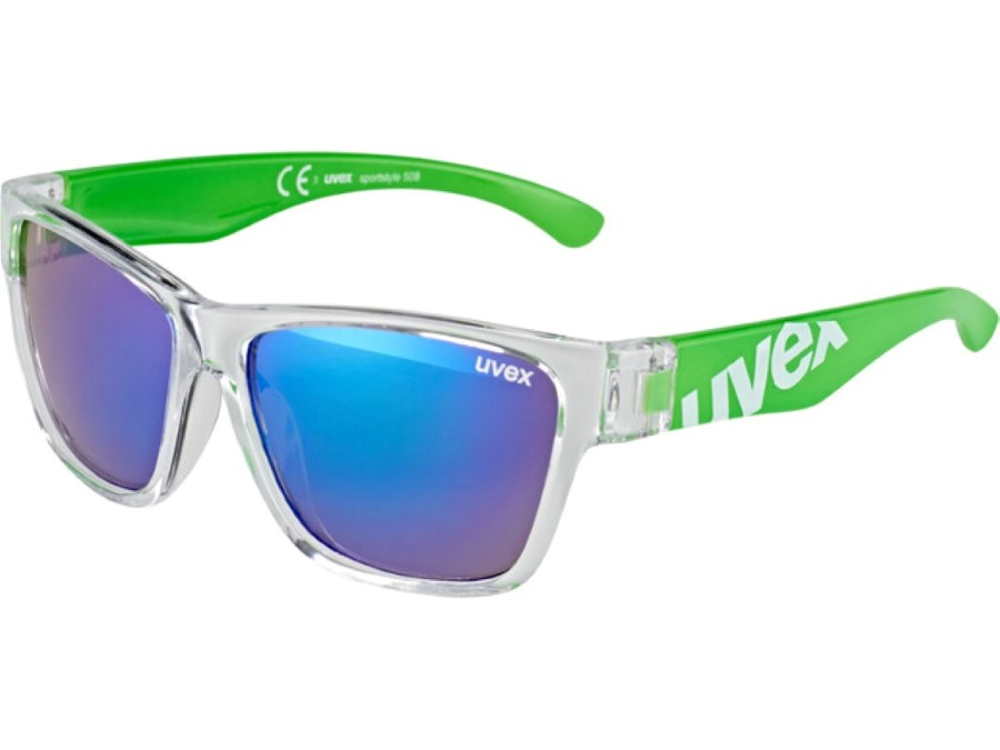 Uvex Sportstyle 508 clear green