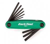 Park Tool TWS-2 Fold-up Star Shaped Driver Wrench Set