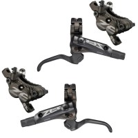 Shimano  Zee BR-M640 Front&Rear Resin D01S