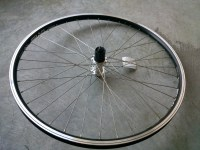 Hub Shimano Rear 26'' Alloy V-brake Doublewall Cassette