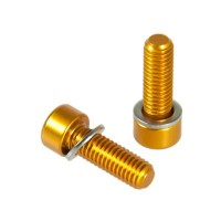 KCNC Bottle Cage Screw  Gold