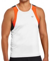 Pearl iZUMi Elite Infinity In-R-Cool Singlet large White/Cherry