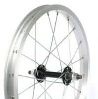 Hub JoyTech Rear 16'' Alloy V-brake  Threaded