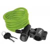 M-Wave Cable Lock 10x1800mm  green