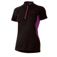 Pearl iZUMi W's Ultra Inside-out Zip SS  Black/Orchid