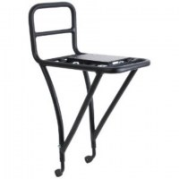 Stainless Steel Front Rack 26''-28'' Black