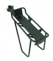 Seat Post Rack with guards Black