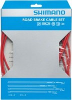 Shimano BC-R680 Road Brake Polymer Cable Set Οπίσθιο Red