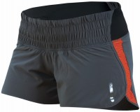 Pearl iZUMi Wms Flash Short medium Shadow Grey/Mandarin Red