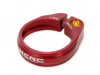 KCNC MTB Screw Clamp 34.9mm  Red