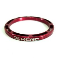 KCNC Headset Spacer 5mm  Red