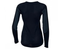 Pearl iZUMi Wms P.R.O. Transfer Wool LS Base medium Black