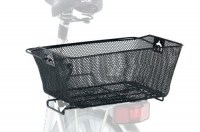 Rear Rack Metallic Basket