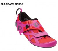 Pearl iZUMi Wms Tri Fly V Carbon No41 4GT-Hot Pink/Black