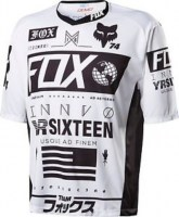 Fox Demo SS Union Jersey medium White