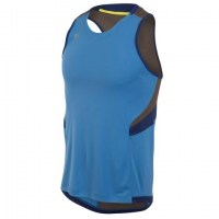 Pearl iZUMi Pursuit Singlet extra large Sky Blue/Blue Depths