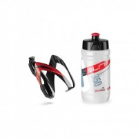 Elite Corsetta 350ml clear logo red