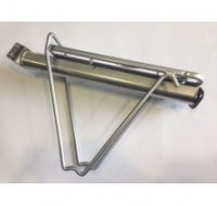Seat Post Rack Susp  Silver
