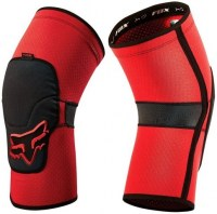 Fox Launch Enduro Knee Pad medium Red
