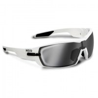 Kask Koo Open White  lens:smoke mirror|clear