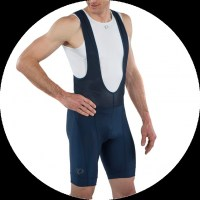 Pearl iZUMi Elite Pursuit Bib Short large Black