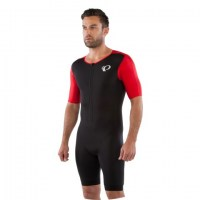 Pearl iZUMi Elite Pursuit Tri Speed Suit medium 2FK-Black|True Red