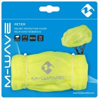 M-Wave Helmet Protection Cover  reflective yellow