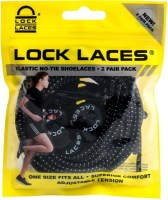 Lock Laces (2 pack)  Black