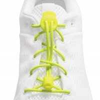 Lock Laces  Neon Yellow