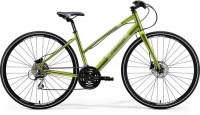 Merida Crossway Urban 20D lady 700c (460mm) small green|silver|green MY18