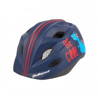 Polisport Junior Helmet (52-56cm)+bottle  dark blue|red