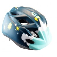 Polisport Junior Helmet (48-52cm)+bottle  Spaceship