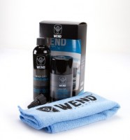 Wend Chain Kit:1xCleaner 120ml|1xWax-80ml|1xMicroFiber Towel  white
