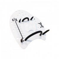 Z3R0D Swimrun Hand Paddles 21.5x17.5 medium white