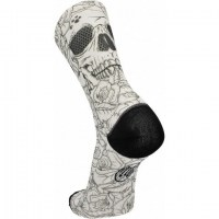 Wear MB D'Arte Socks (No36-40)  white skull