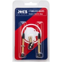 Joe's Tubeless Valve (x2)  Presta 48mm