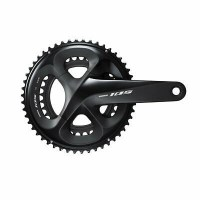 Shimano 105 FC-R7000 (w/o BB) 172.5mm 2x11sp 34/50T Black