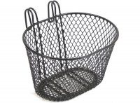 Kids Bike Wire Basket  Black