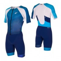 Z3R0D Racer TT Suit Man  Dark Blue/Atol