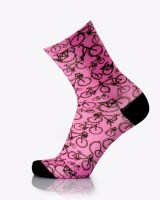 Wear MB D'Arte Socks (No36-40)  bike pink