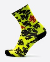Wear MB D'Arte Socks (No41-46)  yellow lion